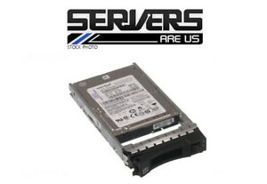 "IBM 146gb 2.5"" Hard Drive 42D0643 10K 6gbps sff sas hot plug 42D0642"