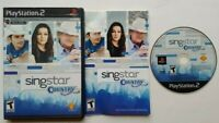 SingStar: Country  PlayStation 2 PS2 Complete Game Works Tested -Very Good