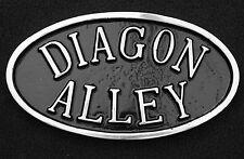 Diagon Alley Harry Potter Aluminium Sign Plaque Hogwarts Platform 9 3/4