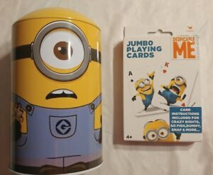 Despicable Me Minnions Puzzle in Tin and Playing Cards
