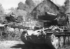 """WWII photo Abandoned 150mm Sd.Kfz. 138/1 Ausf. M """"Cricket"""" (""""Grille"""")  1095"""