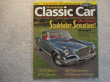 Classic Car 2006 August Studebaker 1960 Impala 1933 Pierce-Arrow El Camino