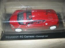 1/43  IXO Peugeot RC Carreau concept car Neuve