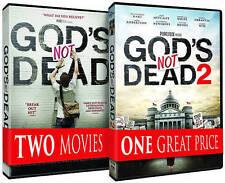 Gods Not Dead/Gods Not Dead 2 (DVD, 2016, 2-Disc Set) BRAND NEW DVD SEALED