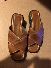 Womens Cole Hann Sandals Brown Leather Size 7