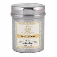 Khadi Natural Neem, Basil & Mint Face Mask(Anti Acne) 50g Free Shipping