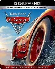 Disney Pixar Cars 3 4K Ultra HD Blu-ray Digital Copy Combo Pack Car Racing Movie
