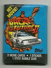 Back to the Future Part 2 Movie Trading Cards (Topps, 1989) Wax Pack