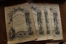 Voyage à MADAGASCAR - Dr CATAT - 1893 - TOUR du MONDE (4 premiers fascicules)