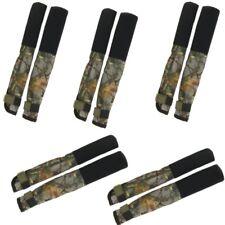 5 x Carp Rod Tip & Butt Protections Couvre deluxe pour pêche à la Carpe Tiges Camo NGT