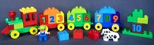 Lego Duplo #10558 Learn To Count Number Train