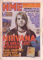 Murale Estampe - Vintage Rétro Magazine Affiche - Nme Nirvana - A4,A3,A2,A1