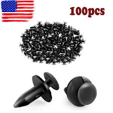 100pcs Nylon Push Type Retainer Clips For Chrysler Buick  21030249 6503598