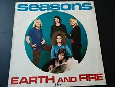 SEASONS - EARTH AND FIRE - SOLO COPERTINA - ONLY COVER