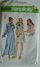 sewing pattern nightdress & bed jacket