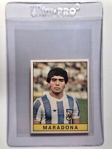 Diego Maradona - ROOKIE RC 1979 Panini Calciatori Sticker/Card #312   STUNNING!