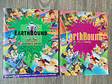 Earthbound Nintendo Player's Guide Book + All Scratch-and-Sniff Stickers Intact!