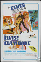 "Clambake Elvis Presley Poster Print Size 12"" x 18"" LIMITED EDITION"