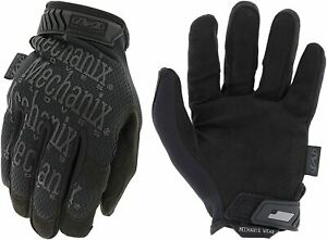 Mechanix Wear MG-55-010 Original Covert Tactical Work Gloves All Black Large New