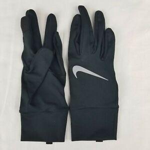 Nike Dry Element Running Gloves 2.0 Women's Medium Black/Silver