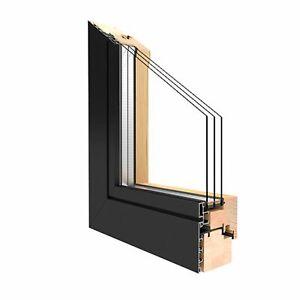 Holz Alu Fenster Drutex Duoline 78 Kiefer Fenster alle Größen