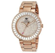 Women's Juicy Couture Grove Rose Gold and Crystal Watch, 1901183