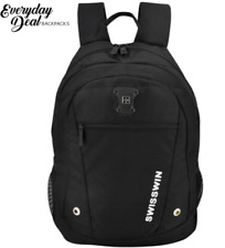 Everyday Deal Ritz Unisex Canvas Laptop Backpack Travel School Bag Casual