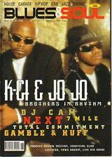 K-Ci & Jo Jo Hailey on Blues & Soul Magazine Cover 1998  Gamble & Huff Nu Flavor