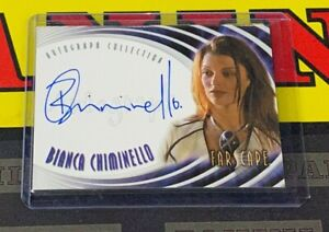 Farscape: Through The Wormhole A39 Bianca Chiminello as Jenavian Autograph!