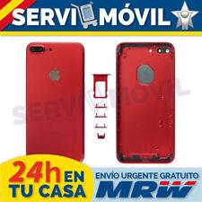 Carcasa Chasis Marco Para Apple Iphone 7 Plus RED EDITION Rojo Tapa bateria