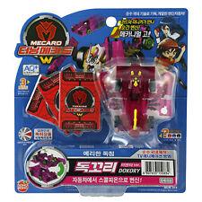 TURNING MECARD W DOKORY MAGENTA Transformer Transforming Car Robot Toy Korean TV