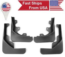 4 Pieces  Front Rear OE Fit Molded Splash Guards Mud Flaps For 13-16 Ford Escape