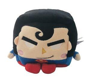 "Kawaii Cubes Series 1 Small DC Super Hero Superman Plush 4"""