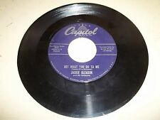 """Capitol Label Jackie Gleason RARE 7"""" OO! What You Do To Me Vinyl Record"""