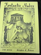Fantastic Nudes Portfolio Stephen Fabian 2nd series 10 prints Conan artist