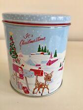 Greengate Tin Box and Teatowel Bambi NEUW Weihnachten Christmas XMas