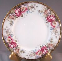 Royal Albert Autumn Roses Bone China Salad Plate - 7 Inches - England
