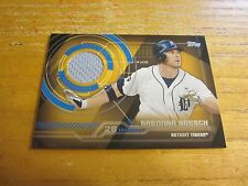 Brennan Boesch 2014 Topps Trajectory Relics #TRBB Relic Card MLB Detroit Tigers