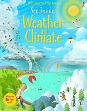 See Inside Weather & Climate by Katie Daynes Book The Cheap Fast Free Post