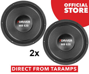 "2x 7Driver 12"" MB 620 8 Ohm Speaker 620W RMS by Taramps Direct From Taramps"