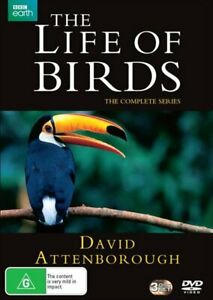 David Attenborough's The Life Of Birds | Complete Series DVD