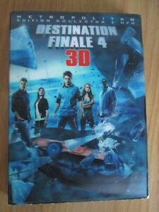 DVD HORREUR  - DESTINATION FINALE 4    3D   2 DVD