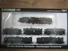 Digital Fleischmann HO 1897 Zug Set Personen Zug DRG  (RG/RU/068-201S2/1)