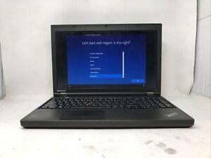 LENOVO THINKPAD T540P I5-4200U 2.5GHZ 8GB RAM 500GB HDD W10P