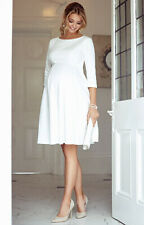Tiffany Rose Maternity Wedding Dress - Sienna Dress (Ivory) Size 2 (UK 10-12)