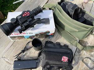 ATN X-Sight II HD 5-20x Digital Day/Night Riflescope - IR Illuminator, Battery