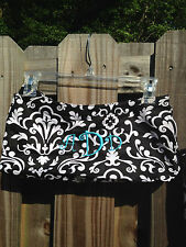 Thirty One 31 Black White Skirt Purse Parisian Pop Monogrammed ADD (cover only)