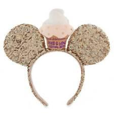 Disney Parks Epcot Food and Wine 2019 Cupcake Minnie Ears Headband Nwt