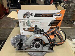 "RIDGID R32104 7-1/4"" Worm Drive Corded Circular Saw"