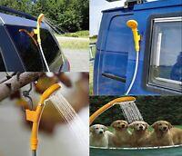 Ducha Portatil 12V Pistola Rociadora para Auto Limpiar Arena Playa lavar mascota